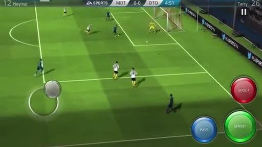 تریلر بازی فیفا 16 اندروید FIFA 16 Adnroid