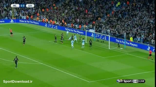 خلاصه بازی یوونتوس 2-1 منچستر سیتی لیگ قهرمانان اروپا
