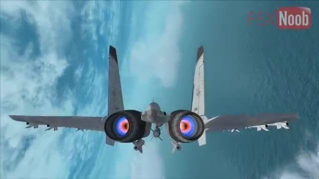 بهترین جنگنده ساخته شده شبیه ساز پرواز Flanker J11