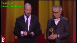 جعفرپناهی برنده خرس طلایی جشنواره برلین برای فیلم تاکسی