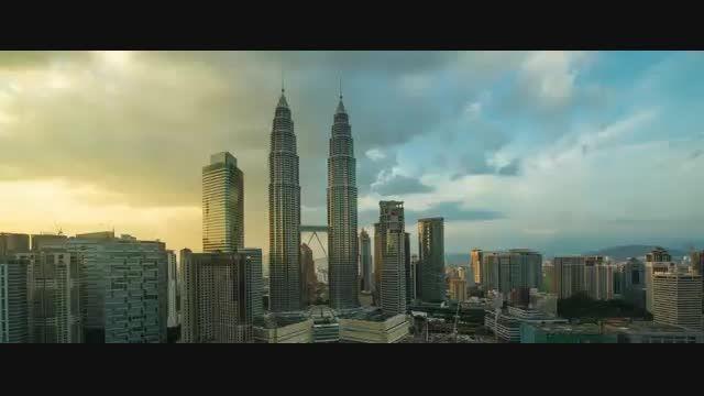 آهنگ زیبا همراه با تصاویر شهر کوالالامپور
