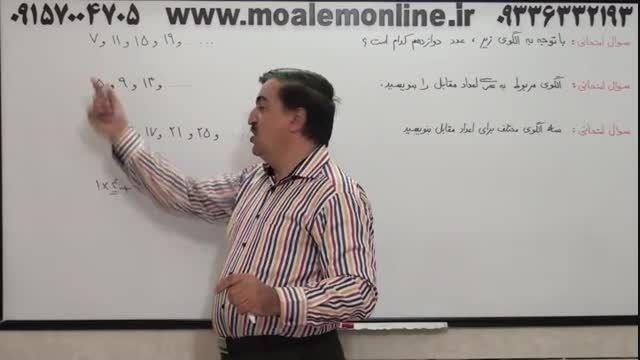 آموزش جادویی ریاضی چهارم دبستان