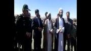 مراسم کلنگ زنی شهدای خوشنام شهدای شهرستان خوشاب