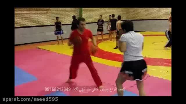 کیک بوکسینگ ثلاث باباجانی  محمد صالحی