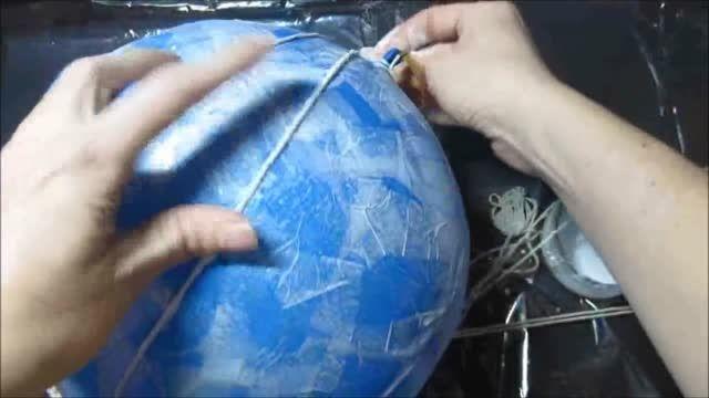روش ساخت آباژور دست ساز (خلاقیت)