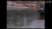 عاقبت اعتماد كردن به یخ روی دریاچه