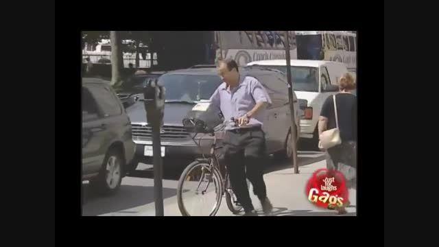 دوربین مخفی برداشتن دوچرخه مردم - Motefavetha.com