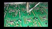 دستگاه CNC لحیم کاری و سوراخ کاری تمام اتوماتیک