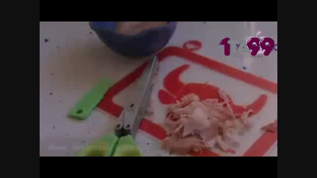 قیچی سبزی خردکن 10 تیغه استیل