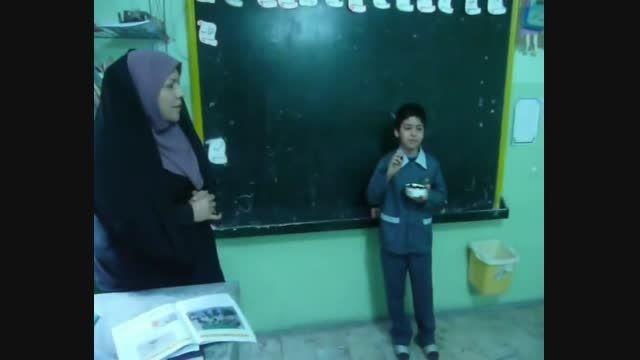 تدریس در رابطه با حالت های ماده
