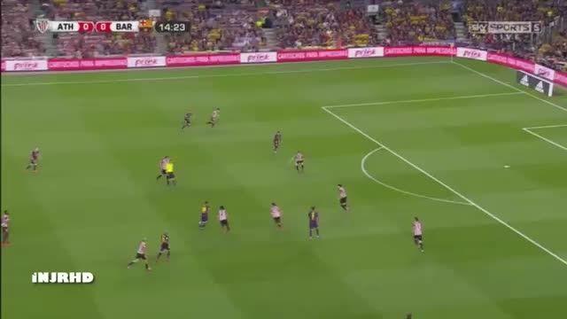 هایلایت کامل لیونل مسی مقابل اتلتیکو بیلبائو