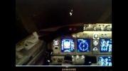 خلبان رضا ساجدی-پرواز شب(لندینگ) 737 سری 800 در فرودگاه رشت