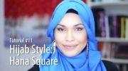 مدل جدید بستن شال حجاب