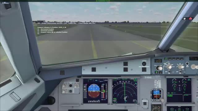 آموزش کامل پرواز با ایرباس 320 شبیه ساز پرواز قسمت 5