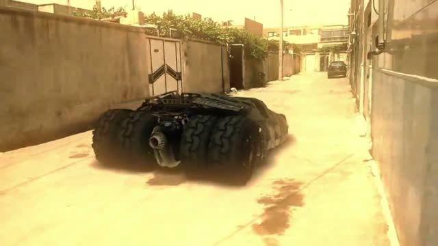 ماشین بتمن در شهر یزد !