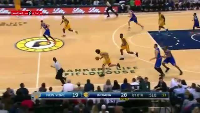 بسکتبال NBA- ایندیانا پیسرز 105-82 نیویورک نیکس