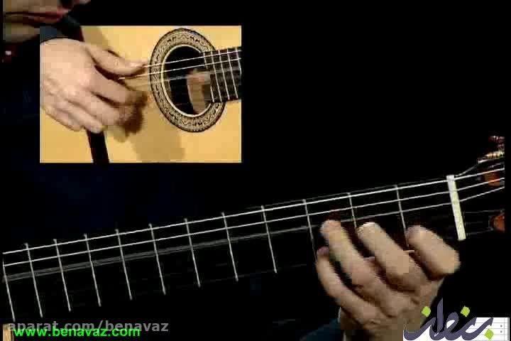 آرون گیل مارتین/آموزش گیتار فلامنکو/فروشگاه بنواز