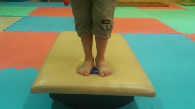 تمرین ترکیبی برای استراتژی مچ پا و تعادل(پرونیشن مچ پا)