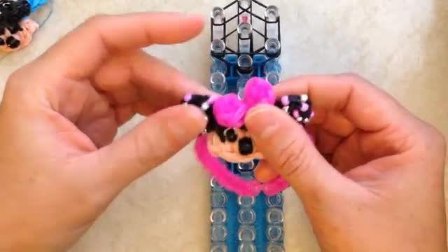 فانی بافت دستبند مینی موس