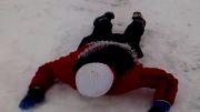 سر خوردن در برف