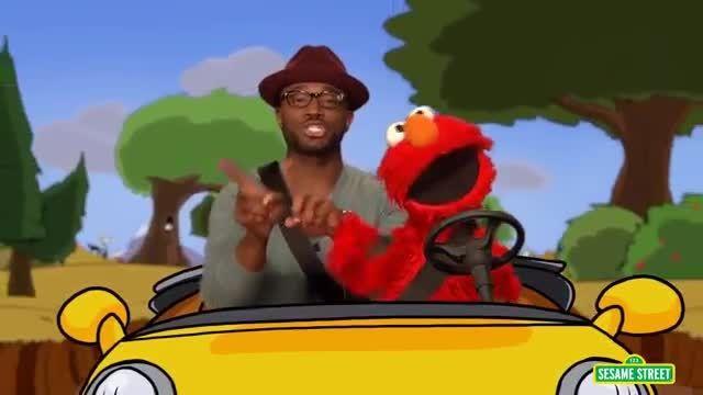 مجموعه آموزش زبان انگلیسی Sesame Street: Elmo