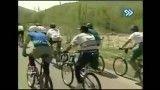 پیشتازی یه الاغ در مسابقه دوچرخه سواری