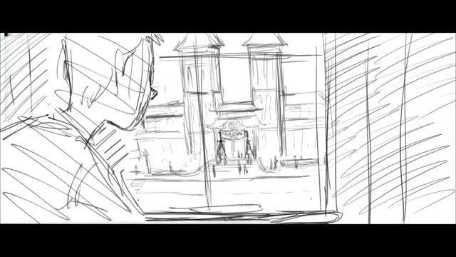 صحنه های حذف شده انیمیشن 6 ابر قهرمان