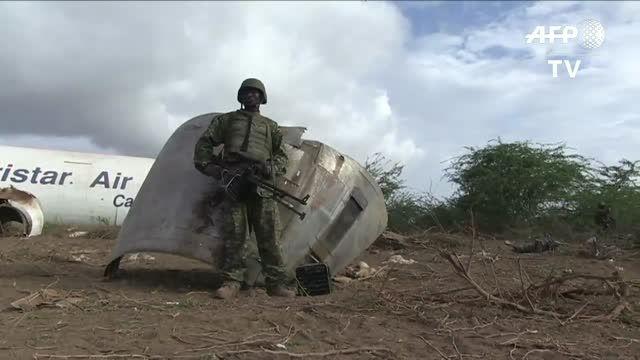 هواپیمای باری مجبور به فرود اضطراری نزدیک سومالی شد
