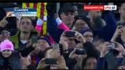 گل دوم بارسلونا به اسپانیول (لیونل مسی)