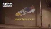 تیزر تبلیغاتی آدیداس برای کفش مسی در لیگ قهرمانان اروپا