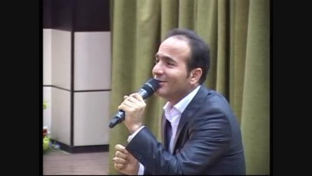 تقلید صدا و شوخی با خواننده های معروف پاپ از حسن ریوندی