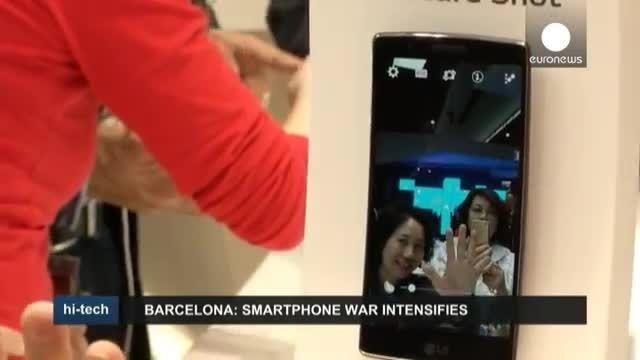 تازه ترین تلفن های هوشمند در کنگره جهانی موبایل بارسلون