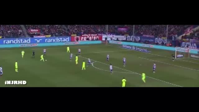 ویدیو اختصاصی: حرکات نیمار مقابل اتلتیکو مادرید