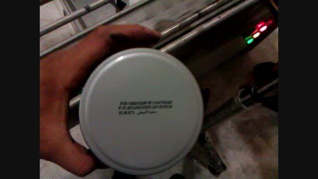 جت پرینتر شرکت دیاکو آسیا در خط تولید محصولات  آرایشی