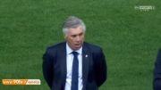 اهدای جام قهرمانی اتلتیکومادرید در سوپرکاپ اسپانیا