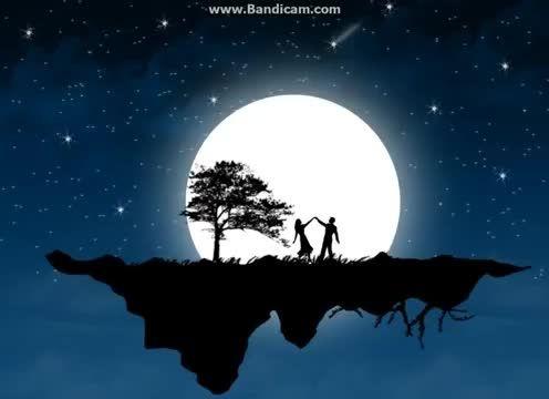 آهنگ  dancing on the moon از خودم