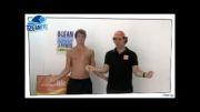 تجویز حرکات ورزشی فیزیوتراپی برای درد شانه در شناگران