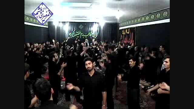 عزاداری و سینه زنی در تاسوعای۱۳۹۳ با مداحی حاج حسن اسدی