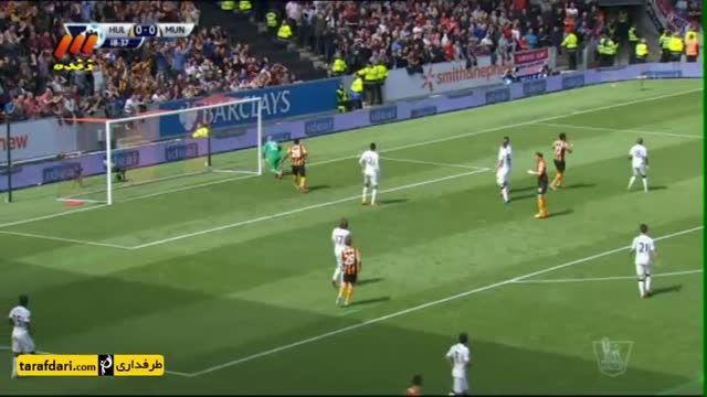 خلاصه بازی هال سیتی 0-0 منچستر یونایتد