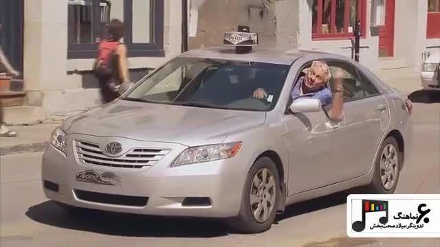 دوربین مخفی تاکسی
