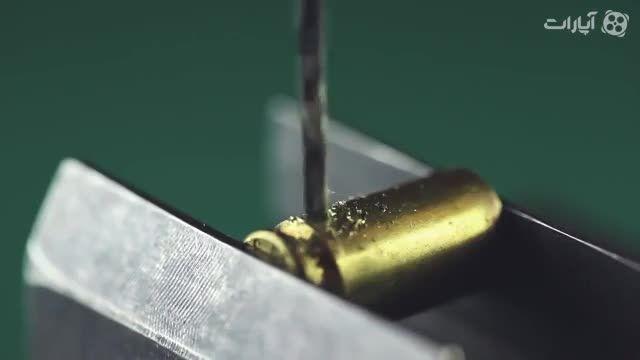 ساخت هندزفری جالب با پوکه اسلحه