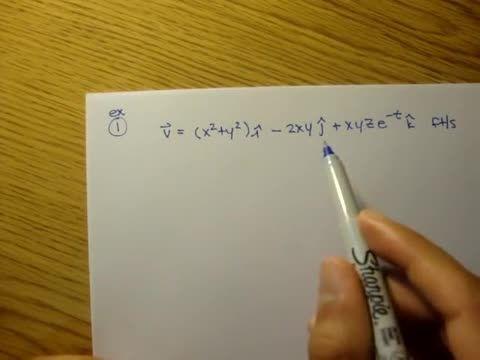 مکانیک سیالات - 03 - میدان سرعت ساده، مثال 1