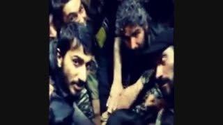 هم قسم شدن مدافعان حرم قبل ازعملیات(شهید مصطفی صدرزاده)