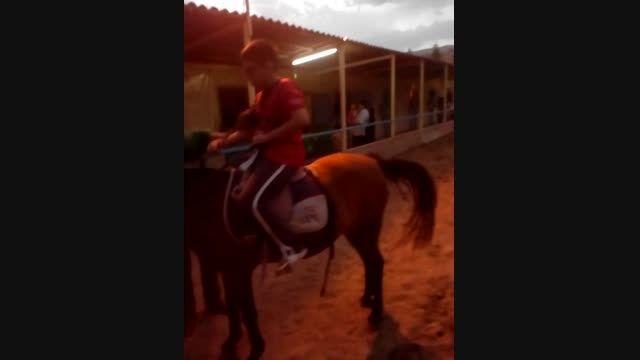 اسب سواری خودم