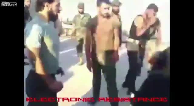 دستگیری جاسوس داعشی در بین نیروها
