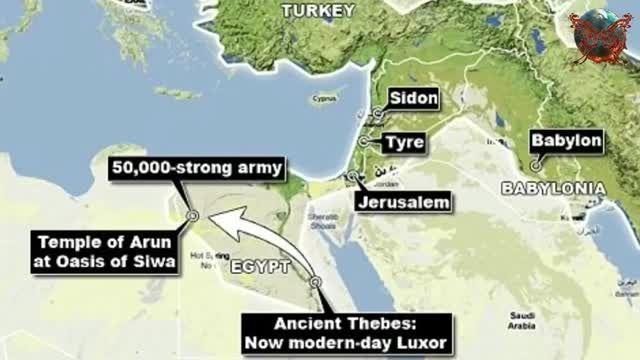کشف بقایای 50000 سرباز هخامنشی در صحرای مصر