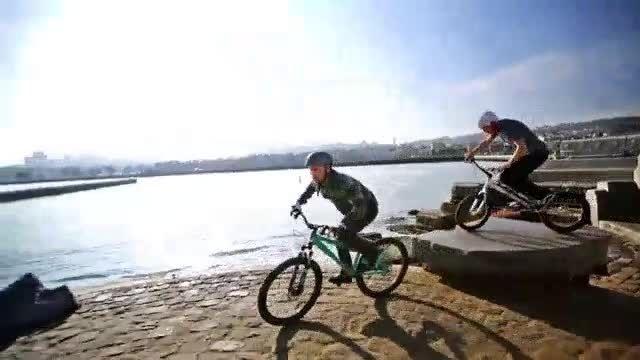 پارکور با دوچرخه  :: wMobile.ir