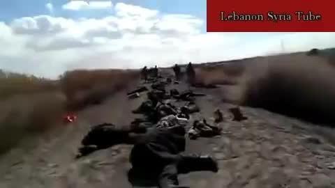 قتل عام داعش توسط حزب الله در عَرسال - سوریه