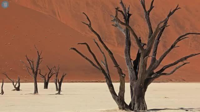 top 10 مکان های استثنائی طبیعی دنیا