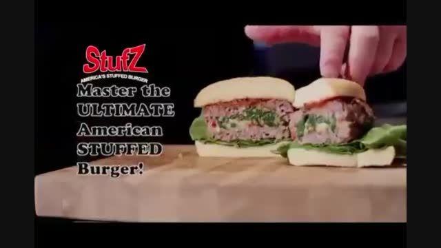 همبرگر زن استافز - Stuffz